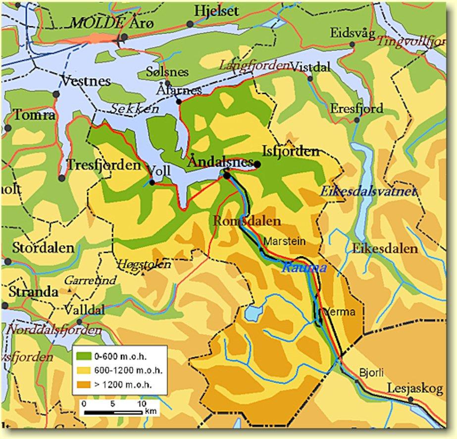 rauma kart The Scottish March of 1612